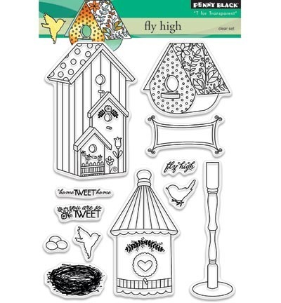 Stempel - Penny Black - Fly high 30-341