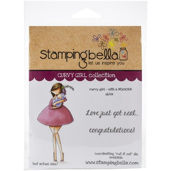 Stempel - Stamping Bella - Curvy Girl With A Newborn