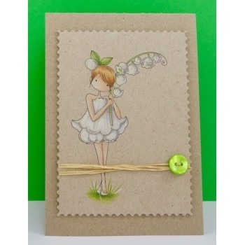 Stempel - Stamping Bella - Garden Girl Lily Of The Valley