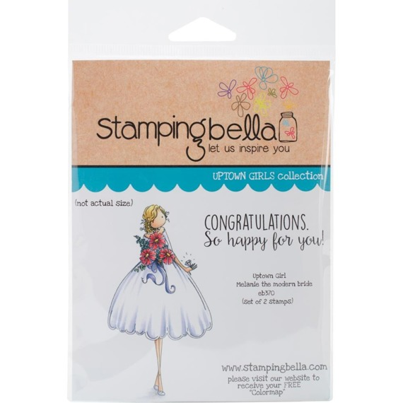 Stempel - Uptown Girl Melanie The Modern Bride - Stamping Bella