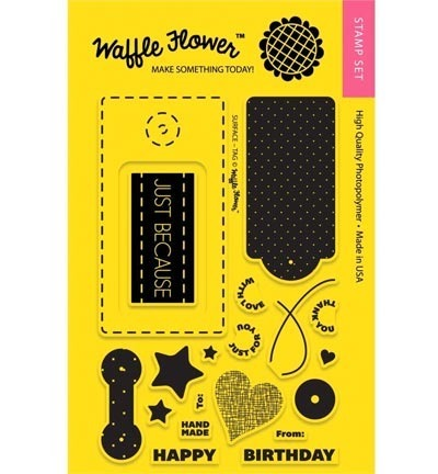 Stempel - Waffle Flower - Surface Tag