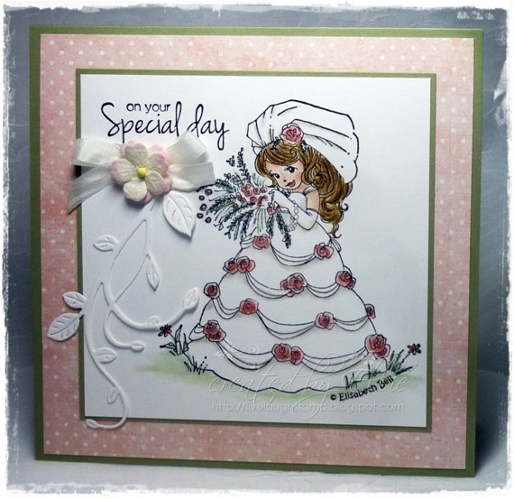 Stempel - Whimsy Stamps - Josie Bell Bride - panna młoda