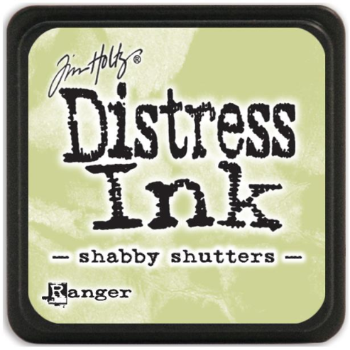 Tusz Distress Mini Pad - Shabby Shutters - Ranger TDP40163