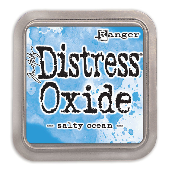 Tusz Distress Oxide - Tim Holtz - Salty Ocean