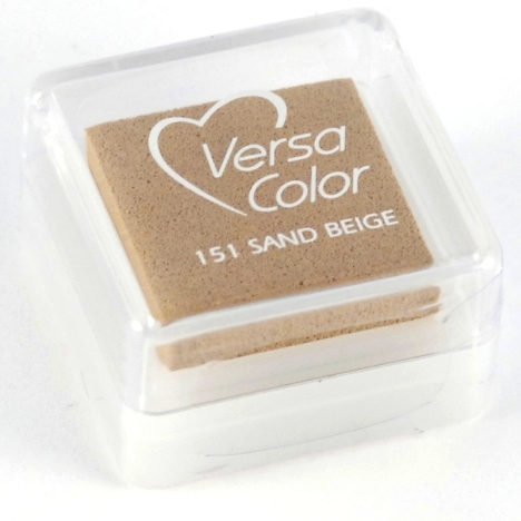 Tusz pigmentowy VersaColor Small - Sand Beige - beżowy, VS-000-151