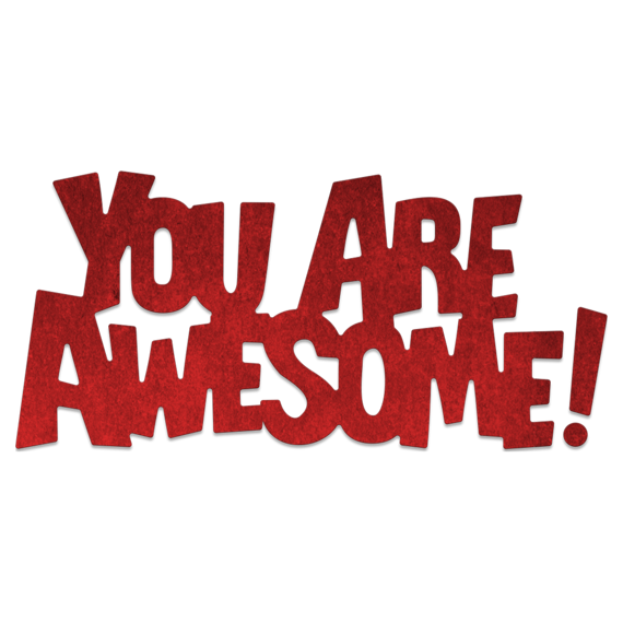 Wykrojnik - Cheery Lynn - You Are Awesome