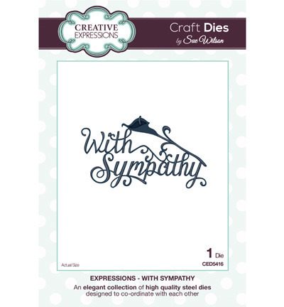 Wykrojnik - Creative Expressions -With Sympathy CED5416