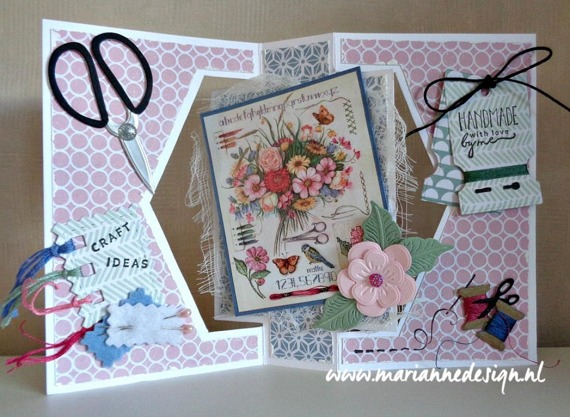 Wykrojnik - Marianne Design - Eline's craft dates