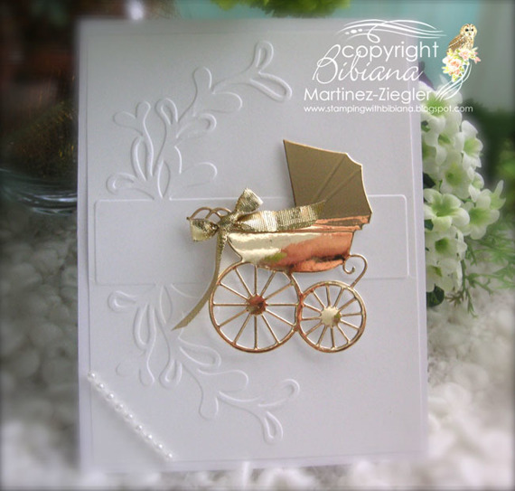 Wykrojnik - Memory Box - Baby Carriage wózek