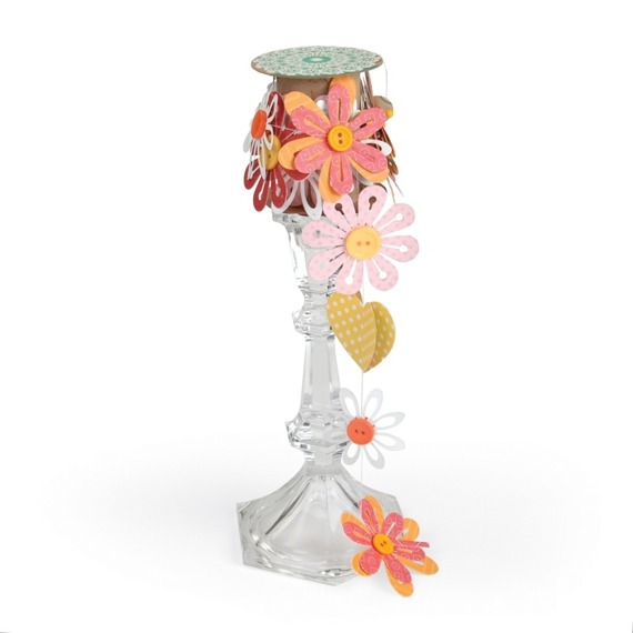 Wykrojnik Sizzix Thinlits - Simple Flowers #2 659949 kwiaty