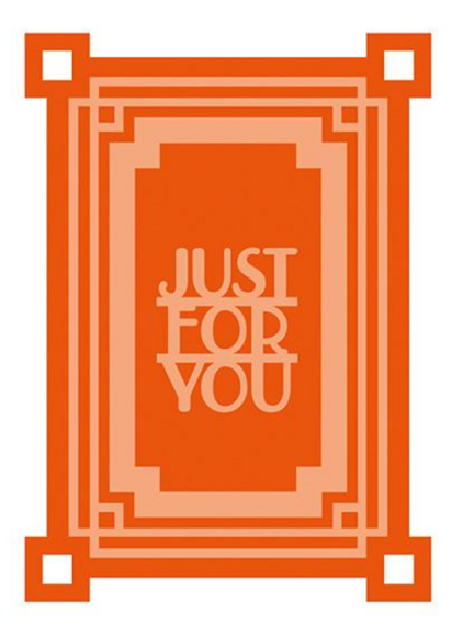 Wykrojnik - Tonic Studios - Just For You - ATC