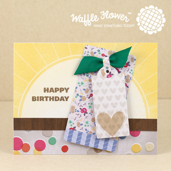 Wykrojnik - Waffle Flower - Surface Tag - Starter Kit