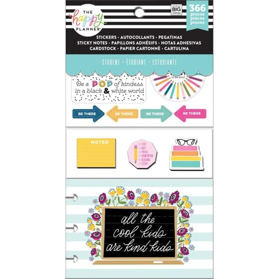 Zestaw naklejek Happy Planner - Kind Kid (student)
