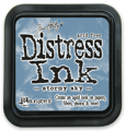 Distress Ink Pad - Ranger - Tim Holtz – Stormy Sky
