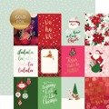 Papier 30x30 - Echo Park - Merry and Bright - 3x4 Journaling Cards