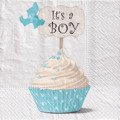 Serwetka 33x33cm -  It's a Boy