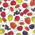 Serwetka 33x33cm - Summer Fruits Allover