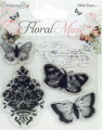 Stempel - Dovecraft - Butterfly Floral Muse
