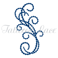 Wykrojnik - Tattered Lace - Pearl Flourish 6 - ozdobnik